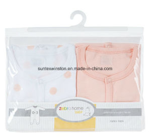 Cute and Soft Feeling Newborn Baby Clothes, 2PCS Per Pack pictures & photos