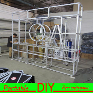 Custom Modular Portable Cosmetics Stand Trade Show Exhibition Display Booth pictures & photos