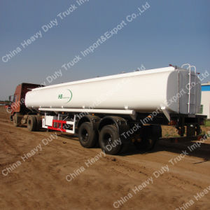 Sinotruk 2 Axle Fuel/Oil Tank Semi-Trailer pictures & photos