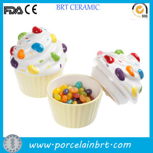Wholesale Restaurant Ceramic Pickling Jelly Ball Mason Jar with Lid pictures & photos