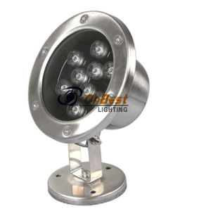AC24V 9W RGB LED Underwater Light in IP68 for Swimming Pools pictures & photos