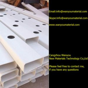 Square PVC Hollow Pipe for Hydroponic Application pictures & photos