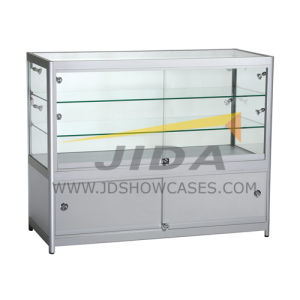 Wooden Showcases Cabinets with Tempered Glass
