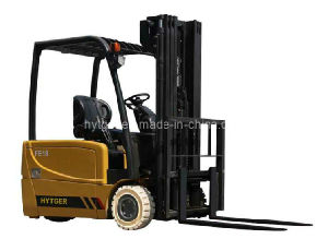 High Quality 3-Wheel AC Type Electric Forklift pictures & photos
