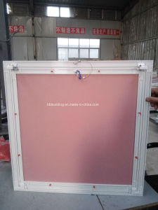 Good Quality and Lower Price Aluminum Gypsum Board Access Panel /Access Door with Push Lock (AP001 600X600mm) pictures & photos