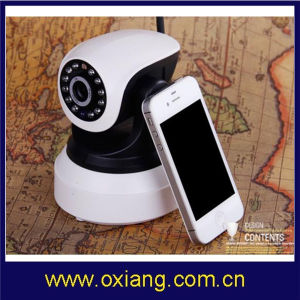 1/4 Inch 0.3 Mega Pixel Wireless WiFi IP Camera pictures & photos
