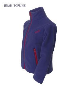 Children Micro Fleece Softshell Fabric Leisure Jacket pictures & photos