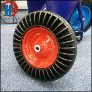 China Factory of Crumb Solid Rubber Wheel pictures & photos