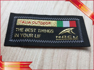 Customized Garment Woven Labels Satin Labels Brand Labels pictures & photos