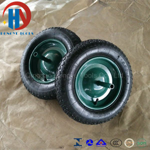 Metal Rim Rubber Wheel Tyre pictures & photos