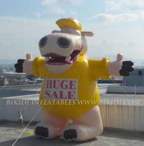 Inflatable Hippo Huge Balloon for Advertising, Balloon with LED Lighting (K2055) pictures & photos