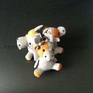 Ce En13356 Plush Stuffed Cow/Cattle/Bull Reflective Safety Toy pictures & photos
