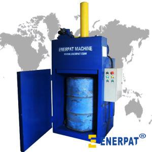 Hydraulic Waste Oil Drum Crusher/Painting Box Crusher/Barrel Crusher