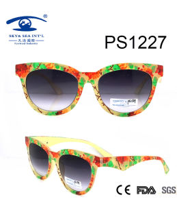 2016 High Quality Plastic Sunglasses (PS1227) pictures & photos