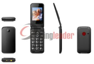 "2.4""Dual Screen WCDMA 3G Flip Senior Mobile Phone (W30C) pictures & photos"