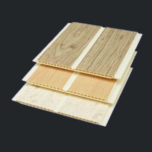 Wooden Color PVC Ceiling Plank with Printing for Home Decoration pictures & photos