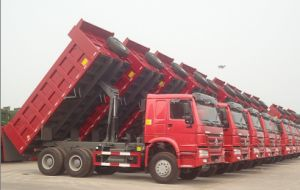 HOWO 10 Wheels 6X4 Dump Truck (ZZ3257N3847A) pictures & photos