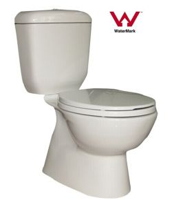 Australian Standard Sanitary Ware Bathroom Watermark Two Piece Washdown Ceramic Toilet (HZX-9971) pictures & photos