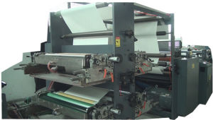 Full Automatic Flexo Printing and Saddle Stitch Notebook Making Machine pictures & photos