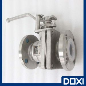 Atex Stainless PFA Lined Ball Valve pictures & photos