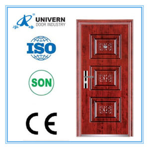 Good Taste Strong Heat Transfer Security Steel Door pictures & photos