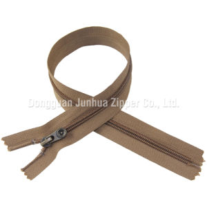Jh-Nz-18 5# Close End Nylon Zipper Auto Lock Slider