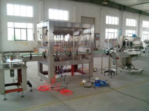 4 Head Tomato Sauce Automatic Filling and Capping Machine
