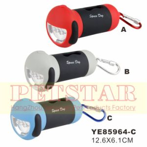 Hot Wholesale Dog Waste Bag Dispenser with LED Light (YE85964) pictures & photos