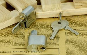 Zinc Cylinder Lock, Two-Section Cylinder Lock, Door Cylinder Lock, Al-3716 pictures & photos