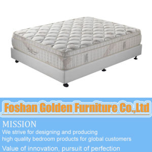 Bamboo Pillow Top Pocket Spring Mattress 6813 pictures & photos
