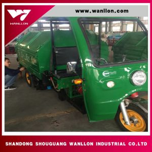 Three Wheel Waste Disposal Truck with Shed pictures & photos