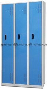 Changing Room Use 3 Door Metal Steel Iron Clothe Locker pictures & photos