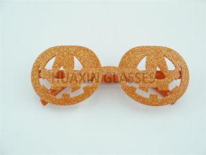 Pumpkin Party Glasses for Halloween Orange
