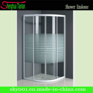 Frameless Interior Painting Aluminum Sliding Glass Shower Door (TL-512) pictures & photos