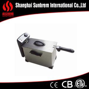 Fh-1001 Non-Splash Lid with Handles Deep Fryer