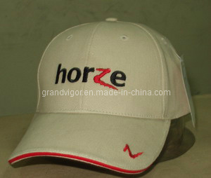 Heavy Cotton Twill Brushed Sports Cap with Metal Buckle and Contrast Sandwich pictures & photos