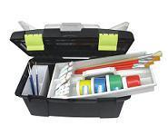Black Plastic Art Tool Box for Storage (SF-G555) pictures & photos