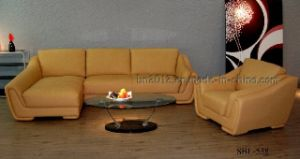 Living Room Genuine Leather Sofa (SBL-538) pictures & photos