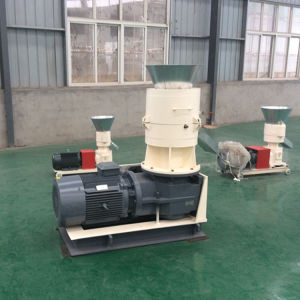Flat Die Animal Feed Alfalfa Biomass Fuel Peanut Husk Pellets Machine pictures & photos