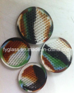 Colorful Glass Honey Comb Disk Dia50mm pictures & photos