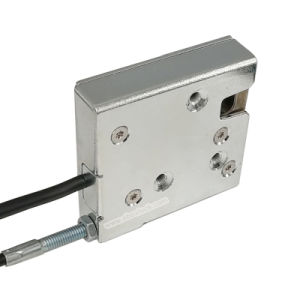 Electronic Cabinet Lock with Reporting and Manual Override pictures & photos