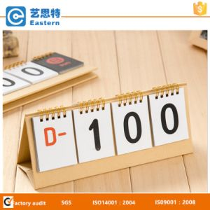 Countdown Paper Calendar Desk Calendar pictures & photos