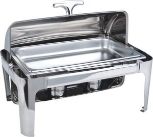 High Qualtiy Dome All Turn 9L Chafing Dish pictures & photos