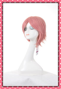 High Temperature Synthetic Fiber Short Style Wig 10inches pictures & photos