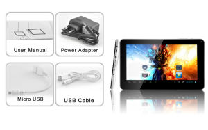 9 Inch Capacitive 800*480 Android 4.0 Camera 512m 8g A13 Tablet PC