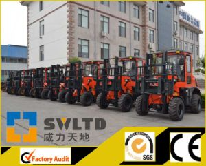 Rough Terrain Forklift Cpcy30 All Terrain Forklift pictures & photos