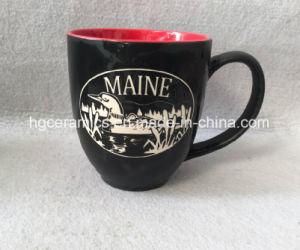 Etched Mug, Sandblast Ceramic Mug, Engraved Ceramic Mug pictures & photos