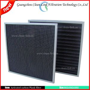 Activated Carbon Filtration Material pictures & photos
