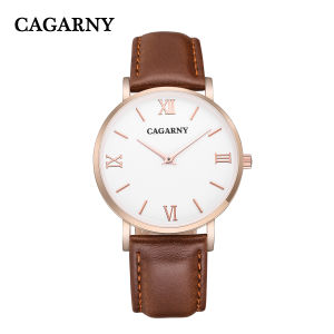 Fashion Roman Leather Wristwatch for Lady pictures & photos
