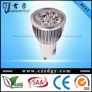 Dimmable GU10 4X3w Cool/Warm White LED Spotlight